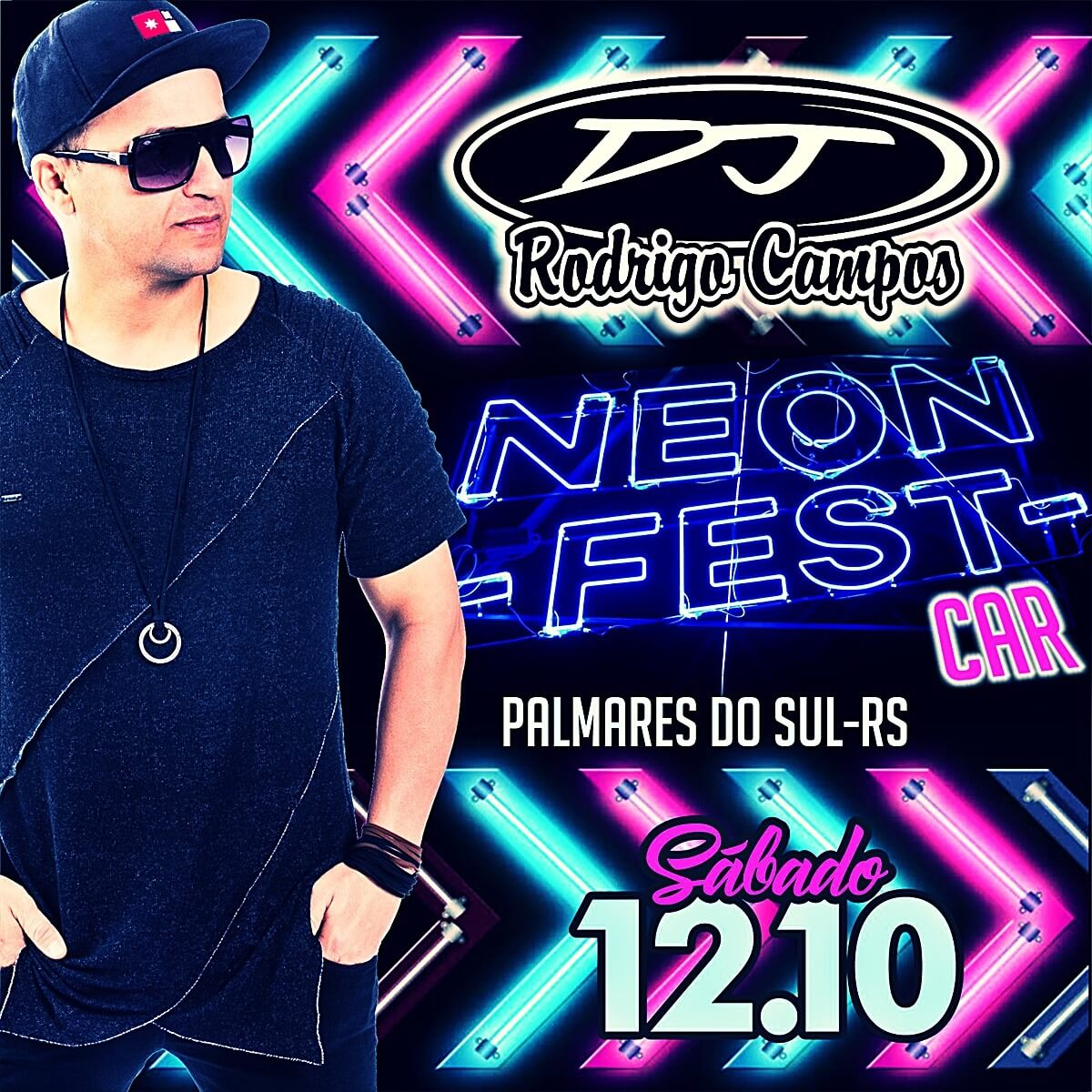 Neon Fest Car Palmares do Sul RS